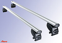 Dacia Duster (2014 to 2018):Atera SIGNO AS aluminium roof bars no. AR5301