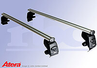 Skoda Octavia five door (2004 to 2009) :Atera SIGNO AS aluminium roof bars no. AR5056