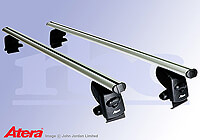 Hyundai Accent four door saloon (2006 to 2010) :Atera SIGNO AS aluminium roof bars no. AR5089