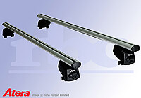 Vauxhall Zafira (2005 onwards) :Atera SIGNO AS aluminium roof bars no. AR5092