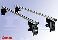 Skoda Fabia five door (2007 to 2014) :Atera SIGNO AS aluminium roof bars no. AR5099