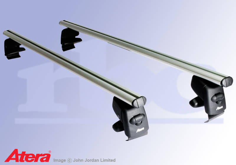 Audi A4 four door saloon (2008 to 2015):Atera SIGNO aluminium bars (includes locks) - Audi A4 saloon (08 on) AR5205