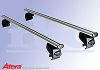 Renault Laguna Sport Tourer (2008 to 2015) :Atera SIGNO AS aluminium roof bars no. AR5207