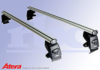 Seat Ibiza five door (2008 onwards) :Atera SIGNO aluminium bars (includes locks) - Seat Ibiza (08 on) AR5217