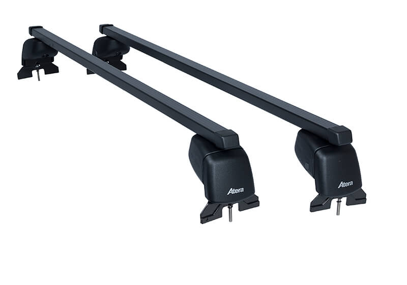 Ford Focus three door (2008 to 2012):Atera SIGNO ASF Fixpoint steel roof bars no. AR4130