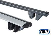 Toyota Hi Lux Surf four door (1989 to 1996) :CRUZ SR+ 110cm roof rail bars (2) no. SR-110 (921932)