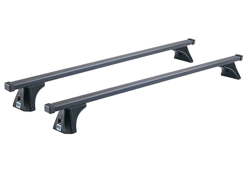 Ssangyong Musso (2018 onwards):CRUZ 135cm OptiPLUS ST roof bars with fitting kit 5872