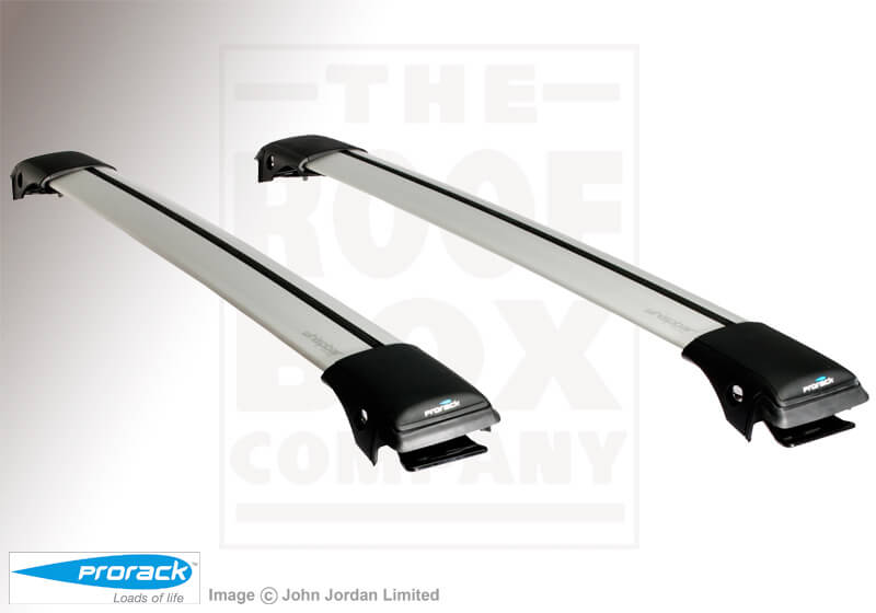 Toyota Corolla estate (2002 to 2007):Whispbar roof bars package - S43 Aero-X bars