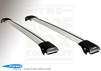 Hyundai Tucson (2003 to 2010) :Whispbar roof bars package - S44 Aero-X bars