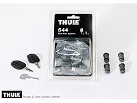 :Thule keyed alike lock barrels x 4 no. TU544 - when bought on their own