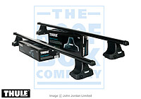 Nissan Primera five door (1990 to 1996) :Thule roof bars package - 754, 761, 1010