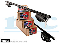 Vauxhall Combo Tour L1 (SWB) (2012 onwards) :Thule roof bars package - 775, 763