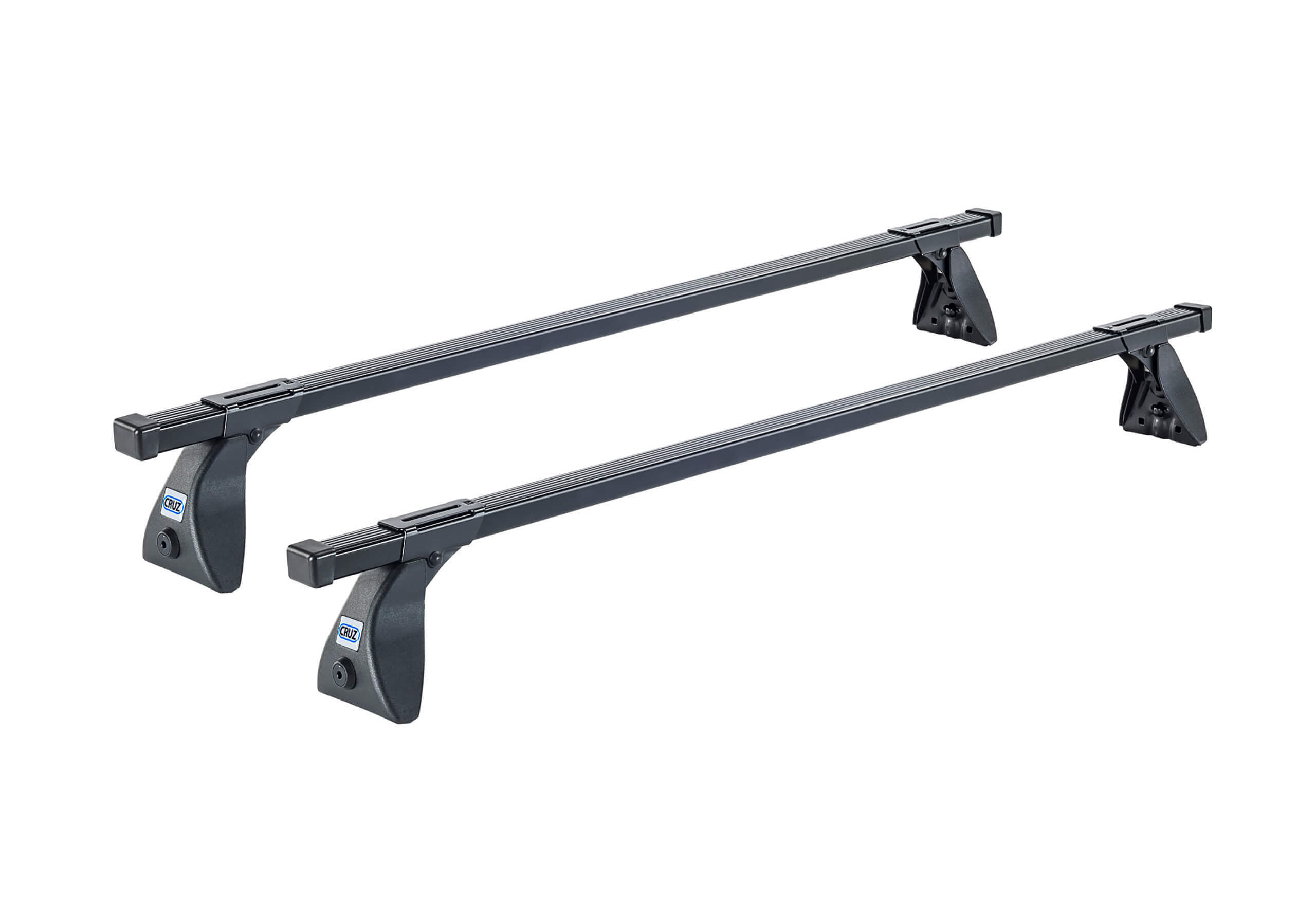 Dacia Sandero five door (2012 onwards):CRUZ 115cm OS roof bars with fitting kit 5418