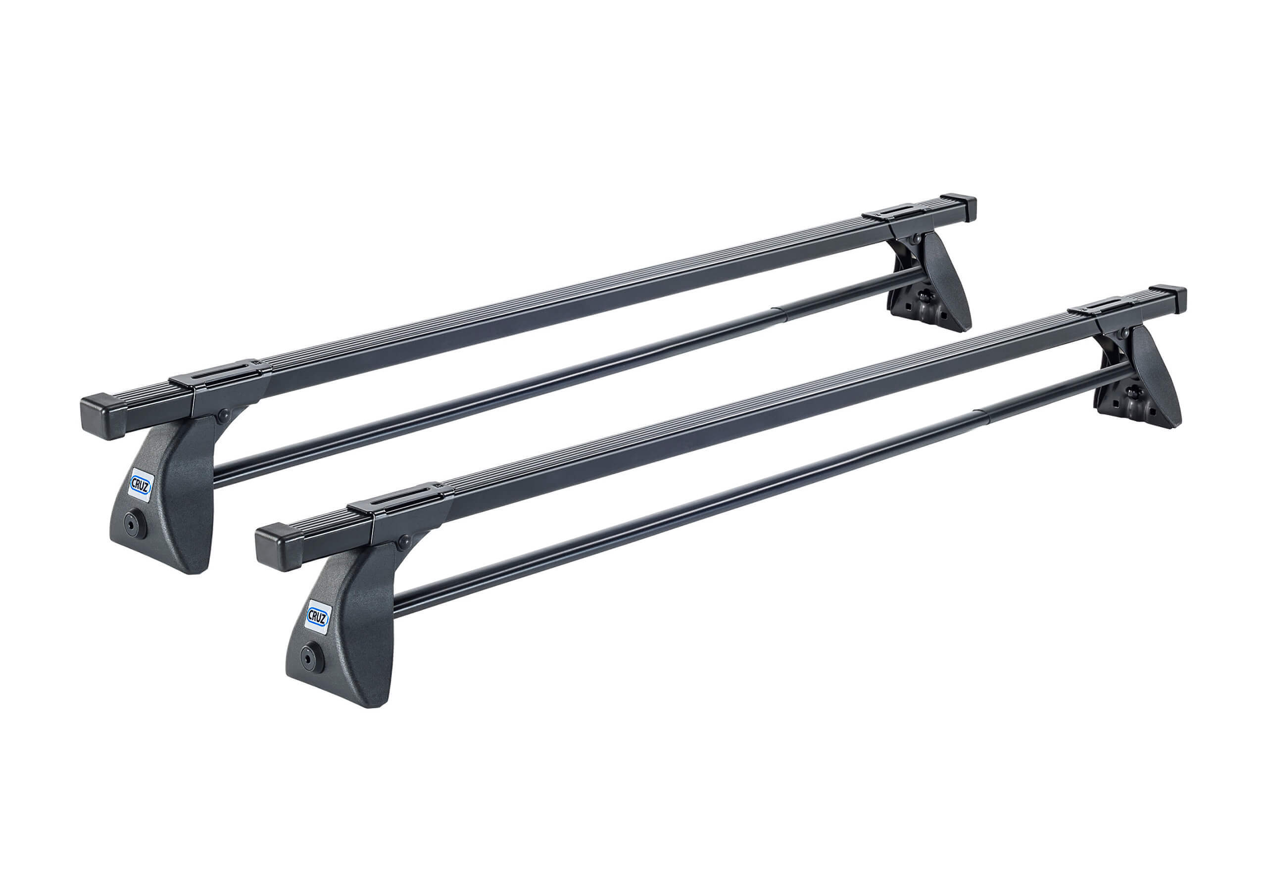Skoda Citigo three door (2011 onwards):CRUZ 115cm OT roof bars with fitting kit 5610