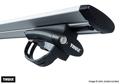 Thule roof bars package - 775, 7122.