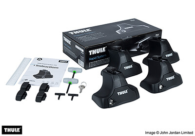 thule roof racks fitting instructions