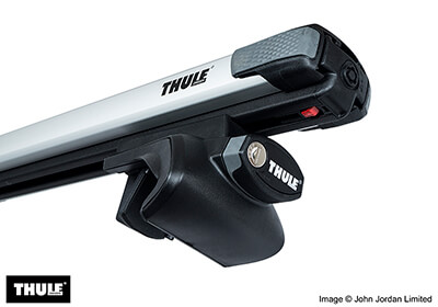 thule roof bars fitting instructions