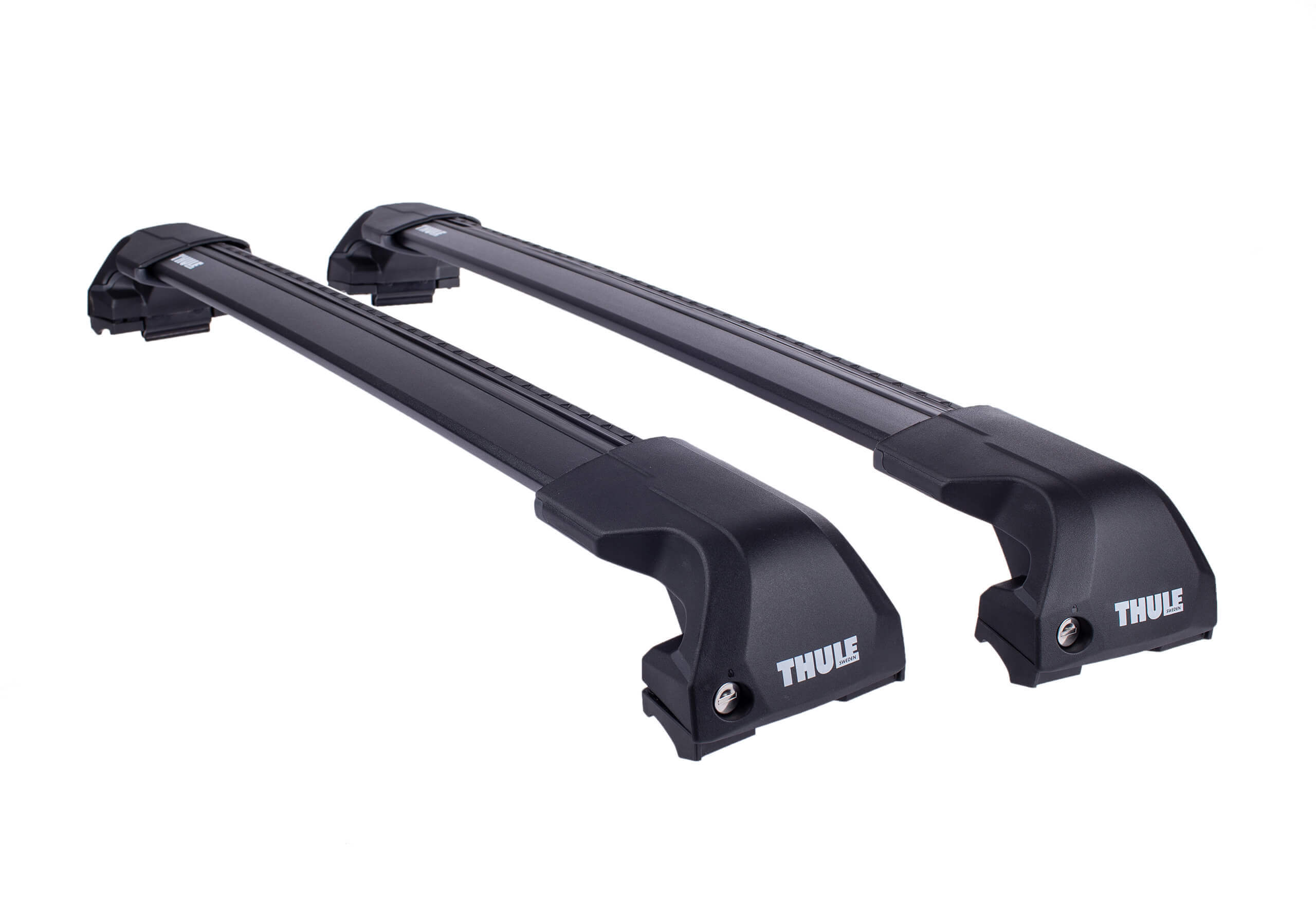 Audi Q3 (2019 onwards):Thule Edge black WingBars package - 7206, 7214B x 2, 6091