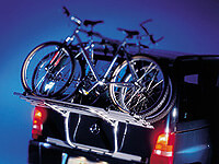 Ford Galaxy (1995 to 2000) :Atera LINEA bike carrier for 3-4 bikes