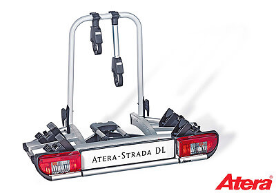 Atera STRADA DL 2 To 3 Bike Carrier UK Lights No