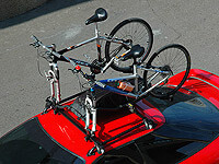 :BUZZ RACK 'BuzzRider' 2 bike forkmount carrier no. BRSP1