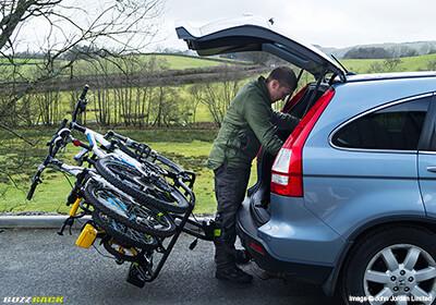 Buzz Rack Buzz Quattro Tilting 4 Bike Carrier No Brp204