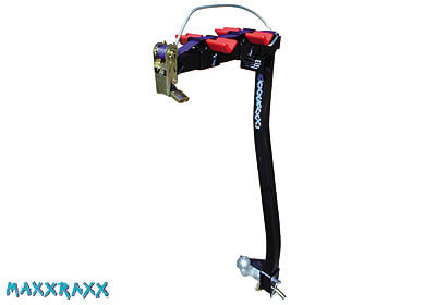 MAXXRAXX 2 bike 'Premier' rack, bolt on tow balls only, no. MXR2 (10MA21)