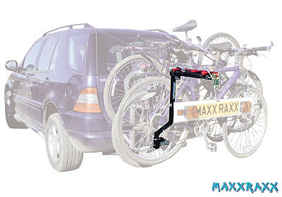 Maxxraxx 4 Bike 4x4 Rack Bolt On Tow Balls Only No Mxrl4