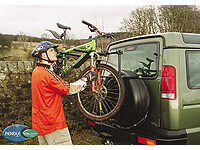 Pendle:Pendle 2 bike strap on spare wheel rack