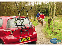 Volkswagen VW Passat four door saloon (1997 to 2001) :Pendle 3 bike high mount Strap On rack no. PNSO