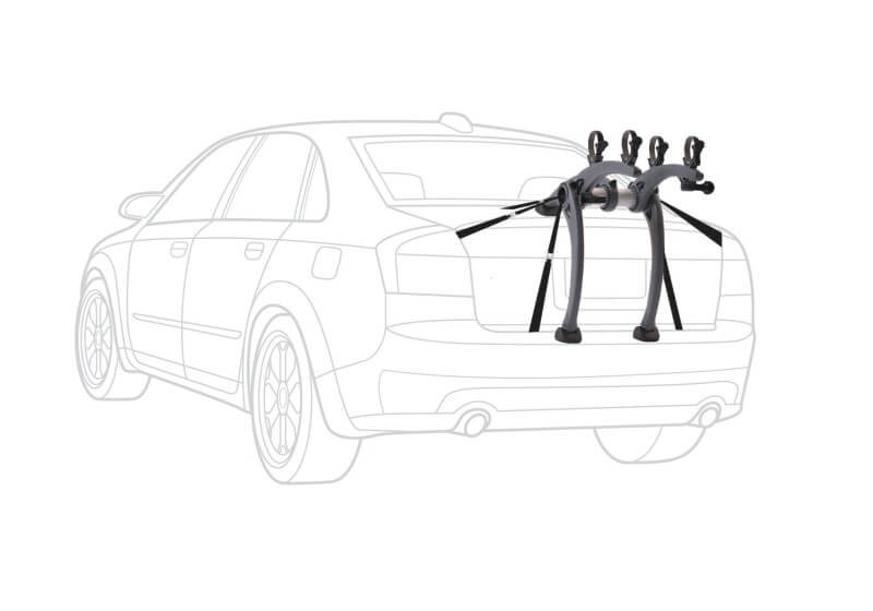 Saris Bones 2 bike carrier, grey, no. SAB2-GY