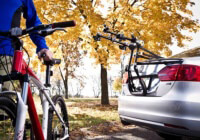 Volkswagen VW Golf five door (2008 to 2013) :Saris Bike Porter 3 bike carrier, no. SABP3