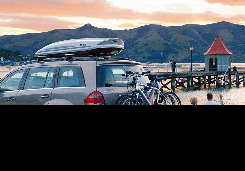 Bike carrier options: