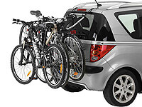 Volkswagen VW Polo five door (2005 to 2009) :Thule ClipOn 9103 for 3 bikes (needs a lighting board)