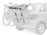 Vauxhall Vectra estate (1997 to 2003) :Thule ClipOn 3 bike carrier no. 9104