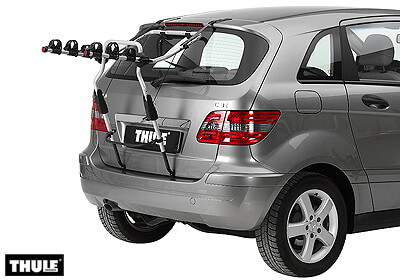 Skoda Roomster 06 15 Thule Clipon 9104 For 3 Bikes