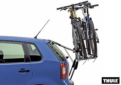 volvo v50 est 04 12 thule clipon high 9105 for 2 bikes. Black Bedroom Furniture Sets. Home Design Ideas