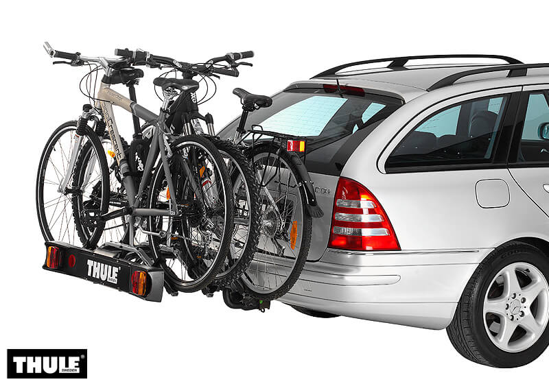 It's not possible to fit a rear door fitting bike carrier to this vehicle