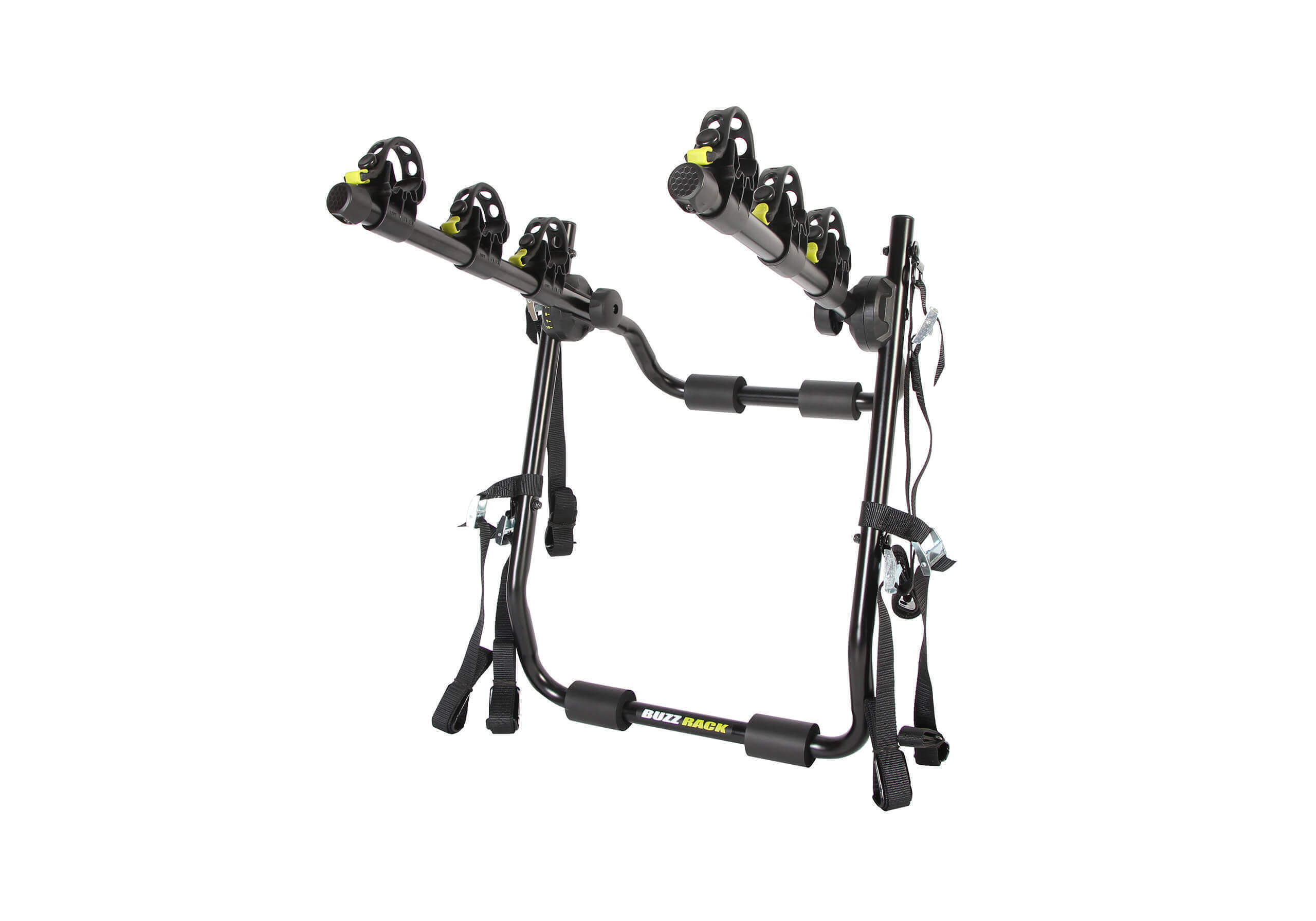:BUZZ RACK 'Mozzquito' 3 bike strap on rack no. BRT423(car-specific)