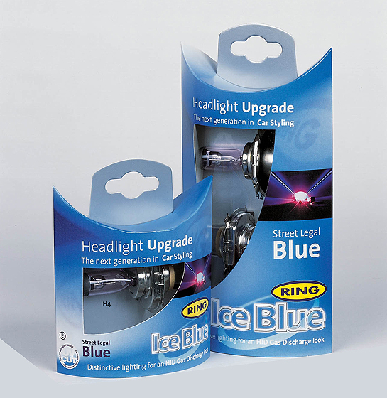 The Roof Box Company: Ring ice blue headlight bulb upgrades