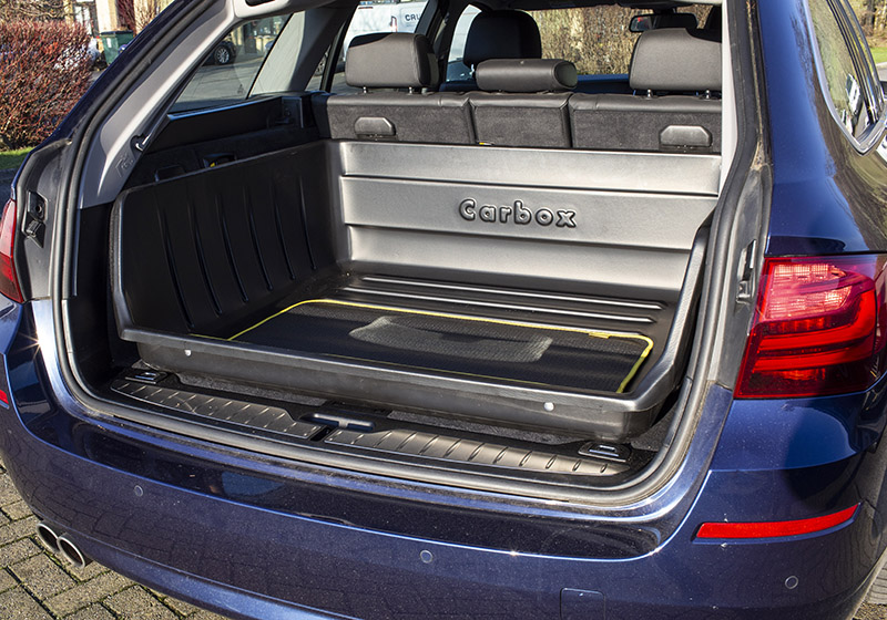 Skoda Octavia estate (2013 onwards):80cm long Carbox YourSize 99, cut away front, 100099080