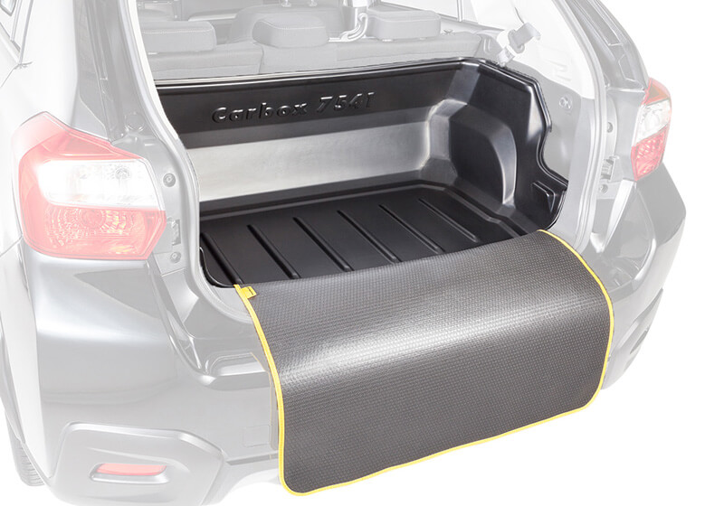 Renault Grand Scenic (2004 to 2009):Carbox Classic S boot liner, black, for Renault Grand Scenic, 103909000