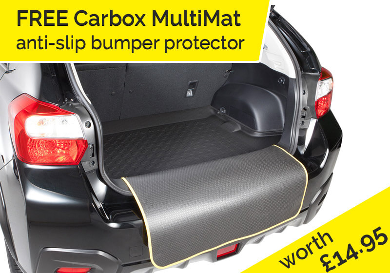 Renault Grand Scenic (2004 to 2009):Carbox Form S boot liner, black, for Renault Grand Scenic, 203909000