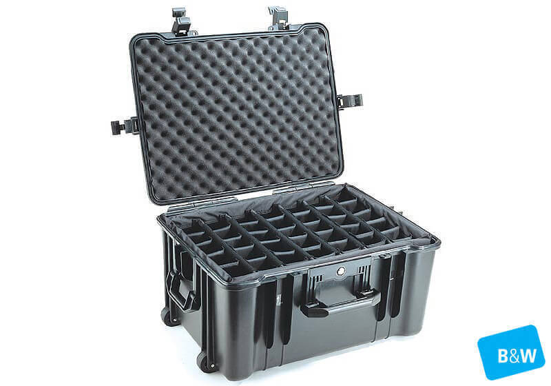 :B&W outdoor.case, Type 67, black, empty, no. 1.5626/B