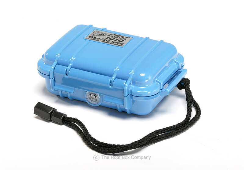 :Peli 1010 Micro Case - blue with black liner, no. PL1010-005-120