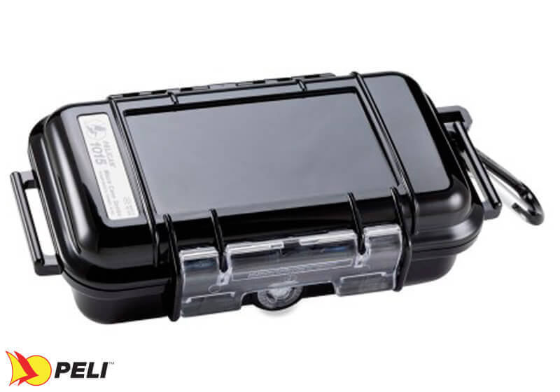:Peli 1015 Micro Case - black with black liner, no. PL1015-005-110