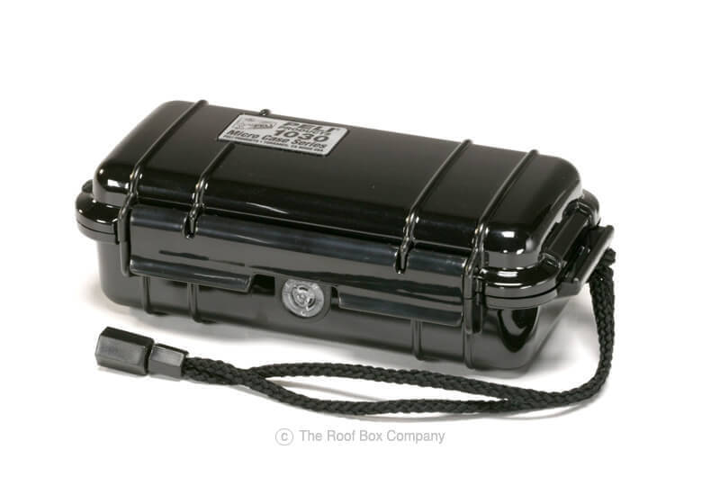 :Peli 1030 Micro Case - black with black liner, no. PL1030-005-110