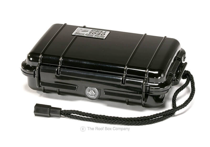 :Peli 1040 Micro Case - black with black liner, no. PL1040-005-110