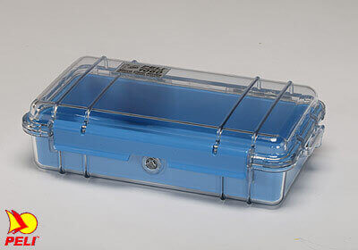 Peli 1060 Micro Case - clear with blue liner, no. PL1060-006-100