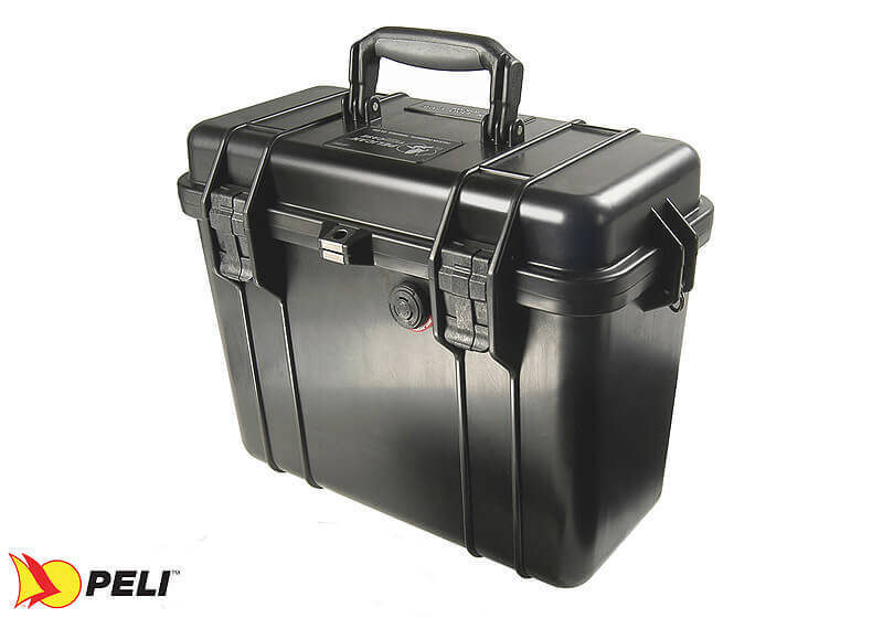 :Peli 1430 case, black, without foam, no. PL1430-001-110